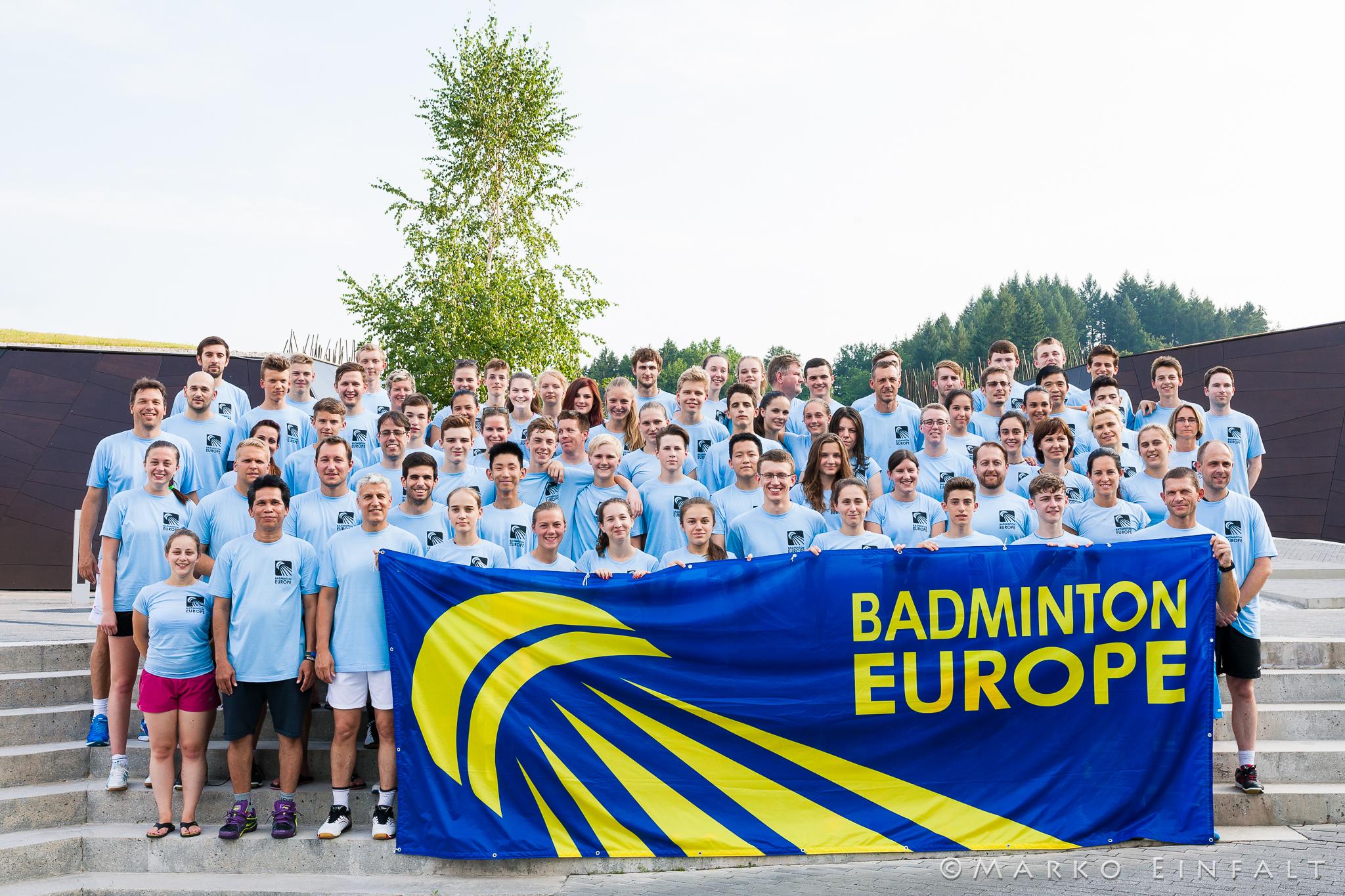 BadmintonEurope.com - Development Badminton Europe